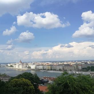 Panorama z Zamku Królewskiego