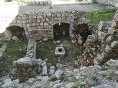 Fosa zamku w Adżlunie