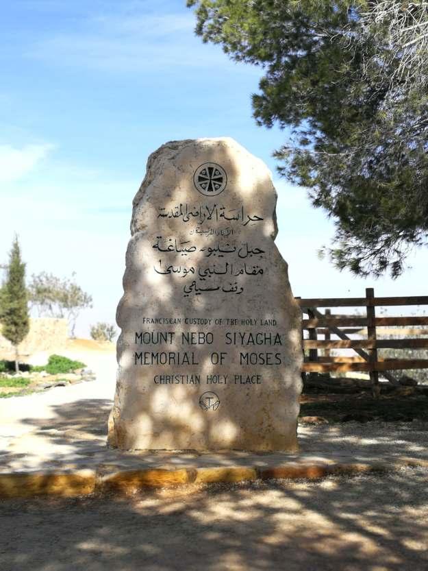 Pomnik upamiętniający Mojżesza, Góra Nebo