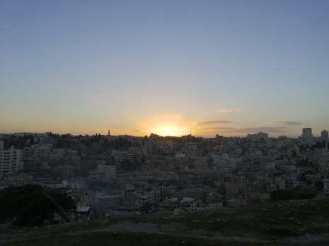 Zachód słońca na Cytadeli