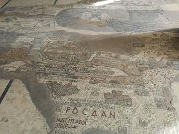 Fragment mapy z Madaby