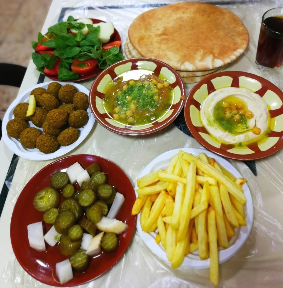 Zestaw lunchowy w Hashem