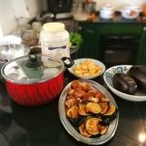 Warzywa wstępnie usmażone
