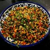 Palestyńska sałatka farmerska