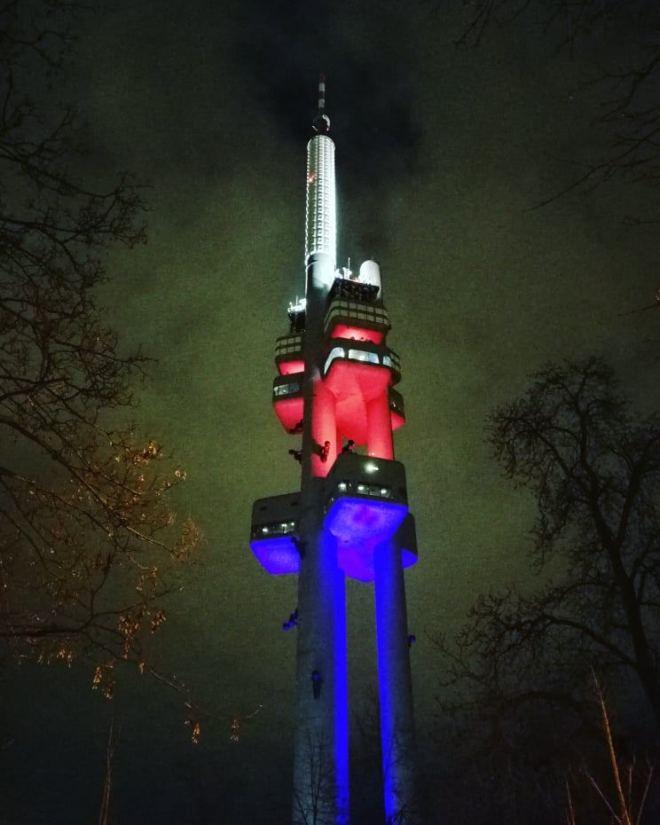Wieża telewizyjna na Žižkowie
