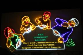 Neon w Lipsku