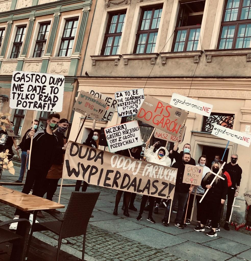 Protest gastronomii